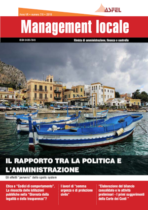 La rivista scientifica Management locale